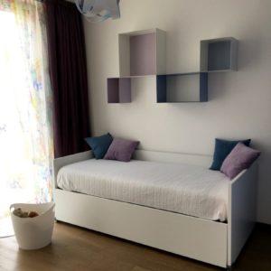 Camera Bimbi Letti Colore Appartamento Centro Ravenna