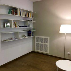 Libreria Lampada Tavolino Appartamento Centro Ravenna