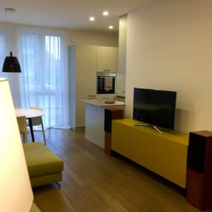 Living Madia Tv Casse Stereo Appartamento Centro Ravenna